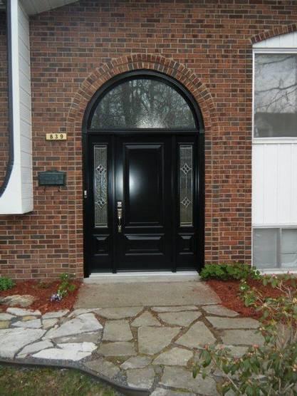 Porte installée à Westmount, Montréal