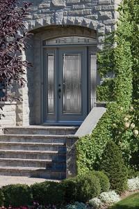 Porte d'acier à Montréal